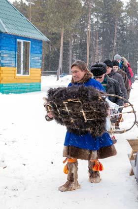 фоторепортаж Охота на медведя