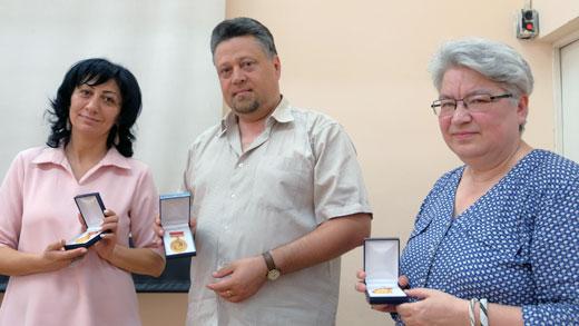 югорским поэтам была вручена медаль Ованеса Туманяна