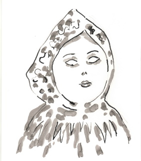 Рисунок Мать Тоньи