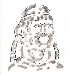 Голова Тоньи была великолепной… Голова выглядела как живая
