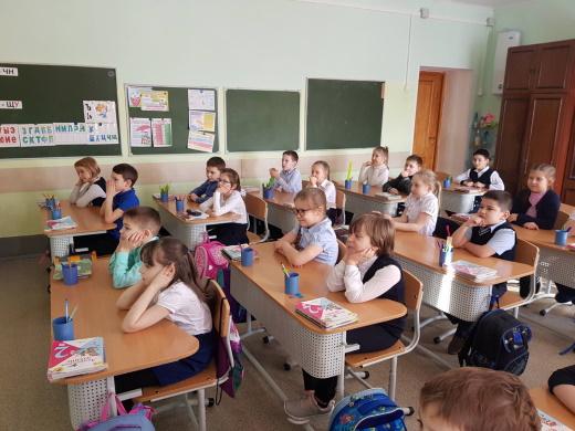 Учащиеся 2Г класса гимназии г. Советский знакомятся с Алёнкой.