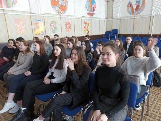 Учащиеся 10А класса школы №2 г. Нягань.